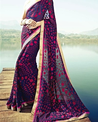 Saree infatuating Brasso Party wear