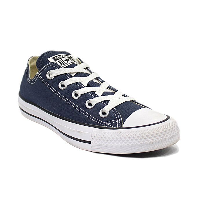 b268c10e3fe80a Converse Chuck Taylor All Star Low Top Sneakers For Women – Navy Blue
