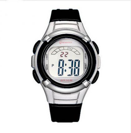 kids black digital watch