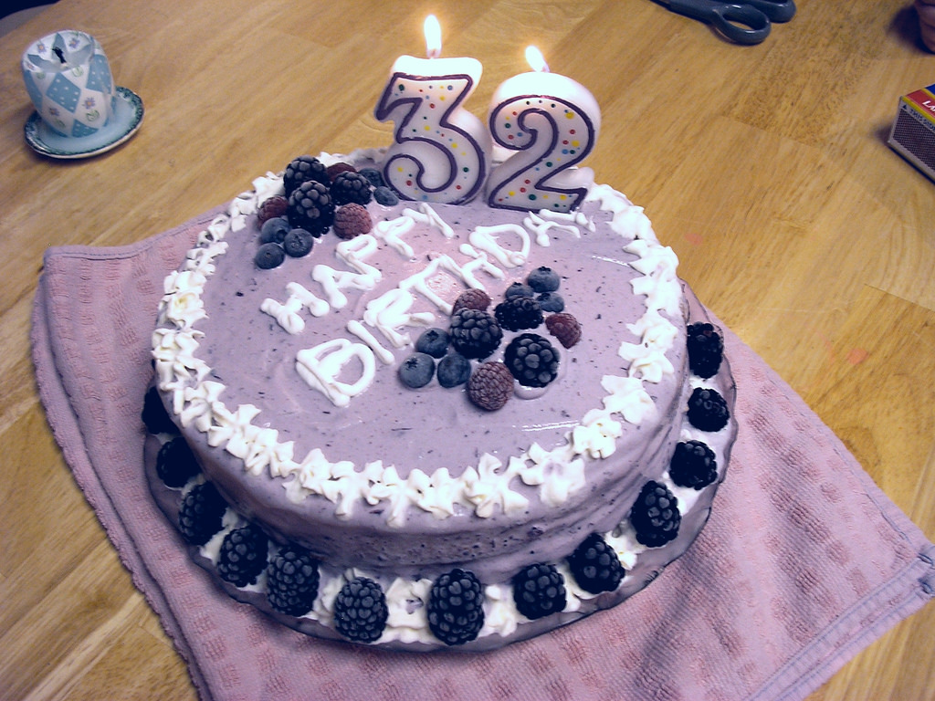 Blueberry Birthday Cake Fancy Kapadaa