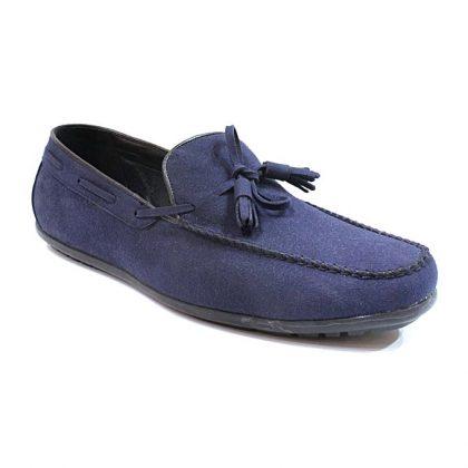 Caliber Men Casual Loafer Shoes - Denim Blue