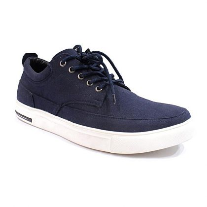 Caliber Men Casual Lace Up Shoes - Blue