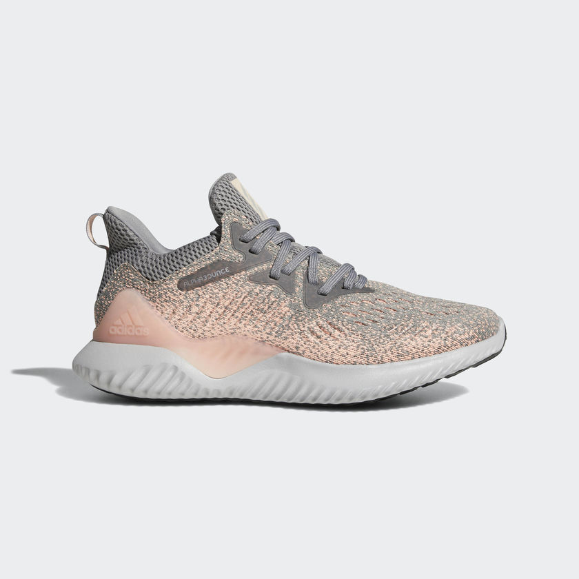 ADIDAS Alphabounce Beyond W GreyPink Running Shoes