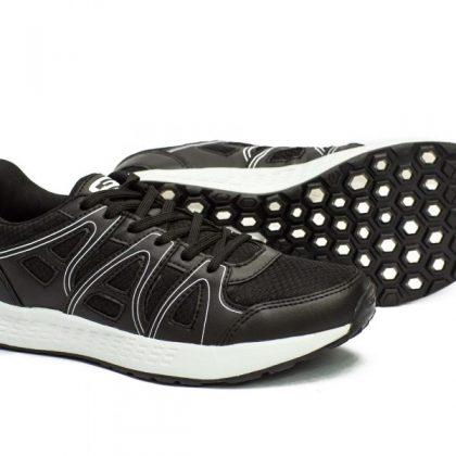 Goldstar Men G10-201 Running Shoes - Black/White