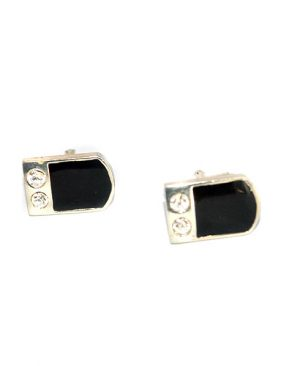 Luxury Semi-Rectangle Design Cufflinks