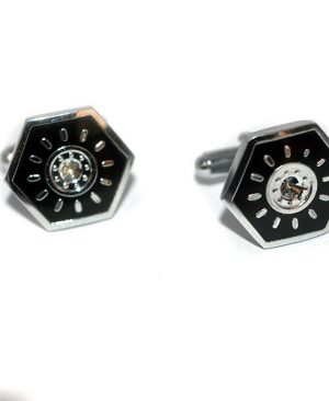Luxury Hexagonal Design Cufflinks