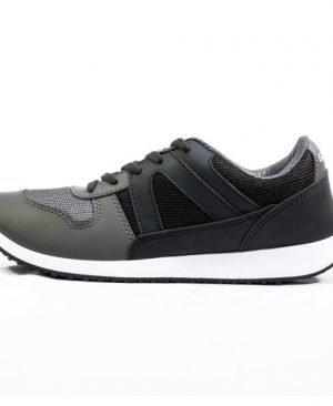 Goldstar GSG103 Sports Shoes - Black/Grey