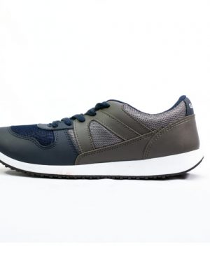 Goldstar GSG103 Sports Shoes - Navy/Grey