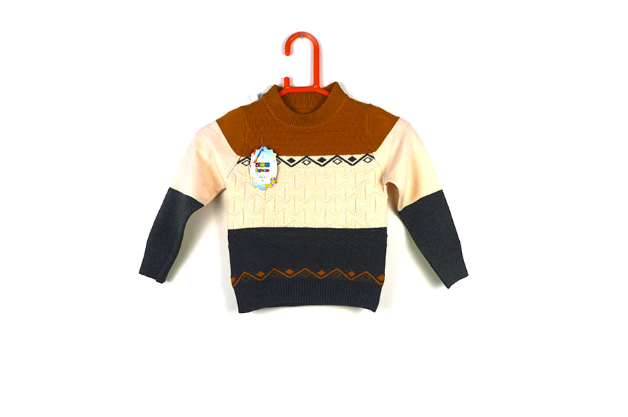 a9395c0b0 Full Sleeves Multicolored Sweater For Baby Boy at Best Price Online