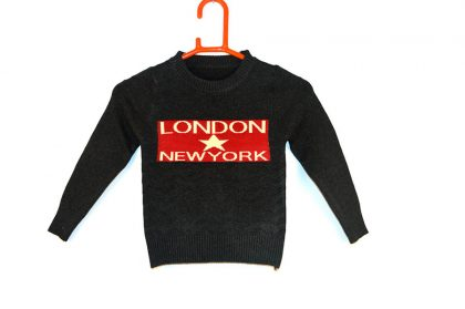 Full Sleeves Black Sweater