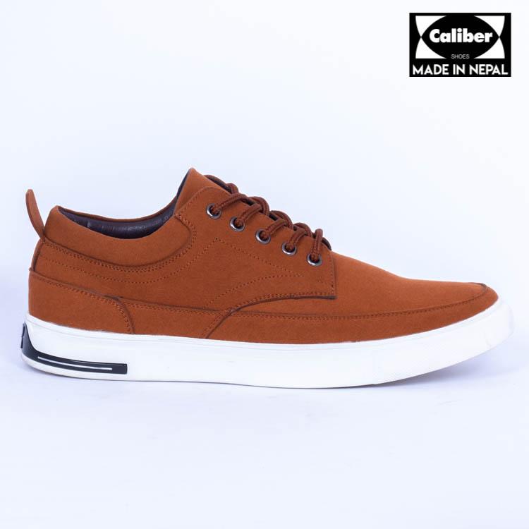 Kapadaa: Caliber Shoes Tan Brown Casual