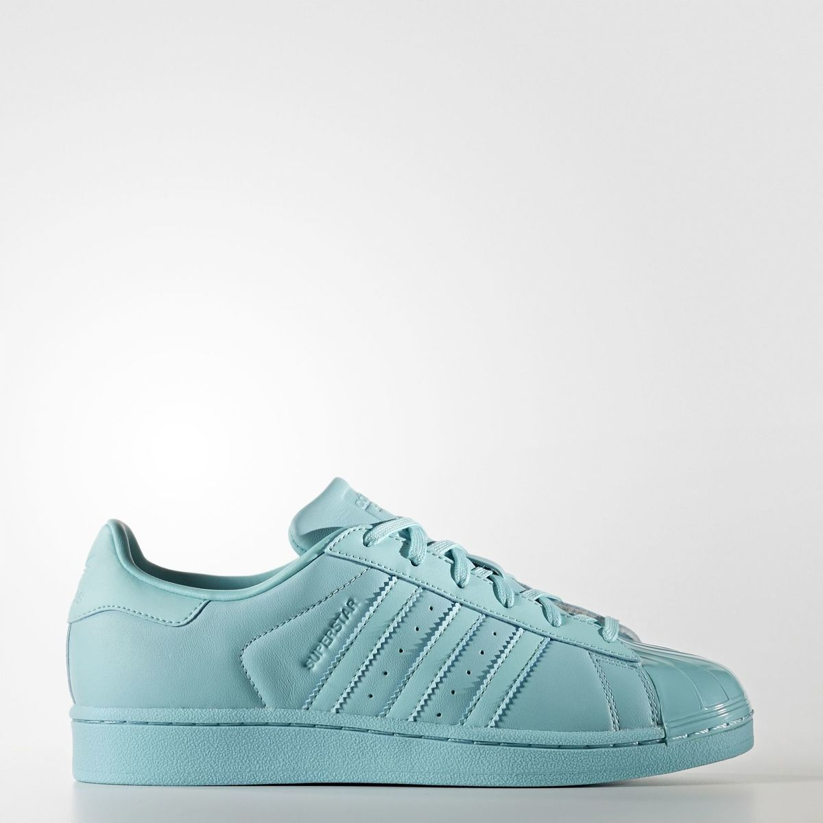 check out 2146f 78ede Kapadaa: Adidas Blue Superstar Glossy Toe W Sports Sneakers For Women-  BB0529