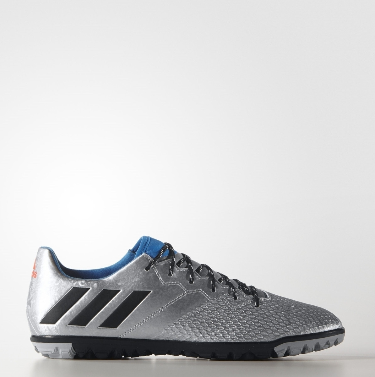 quality design 906c2 1ec80 Kapadaa  Adidas Metallic Blue Messi 16.3 Turf Football Shoes For Men –  S79642